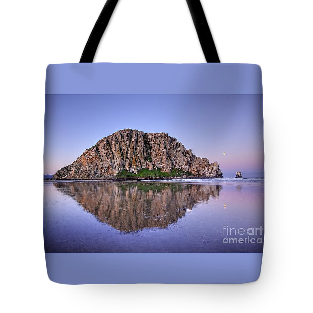 Beach Tote Bag featuring the photograph Morning Reflection by Alice Cahill