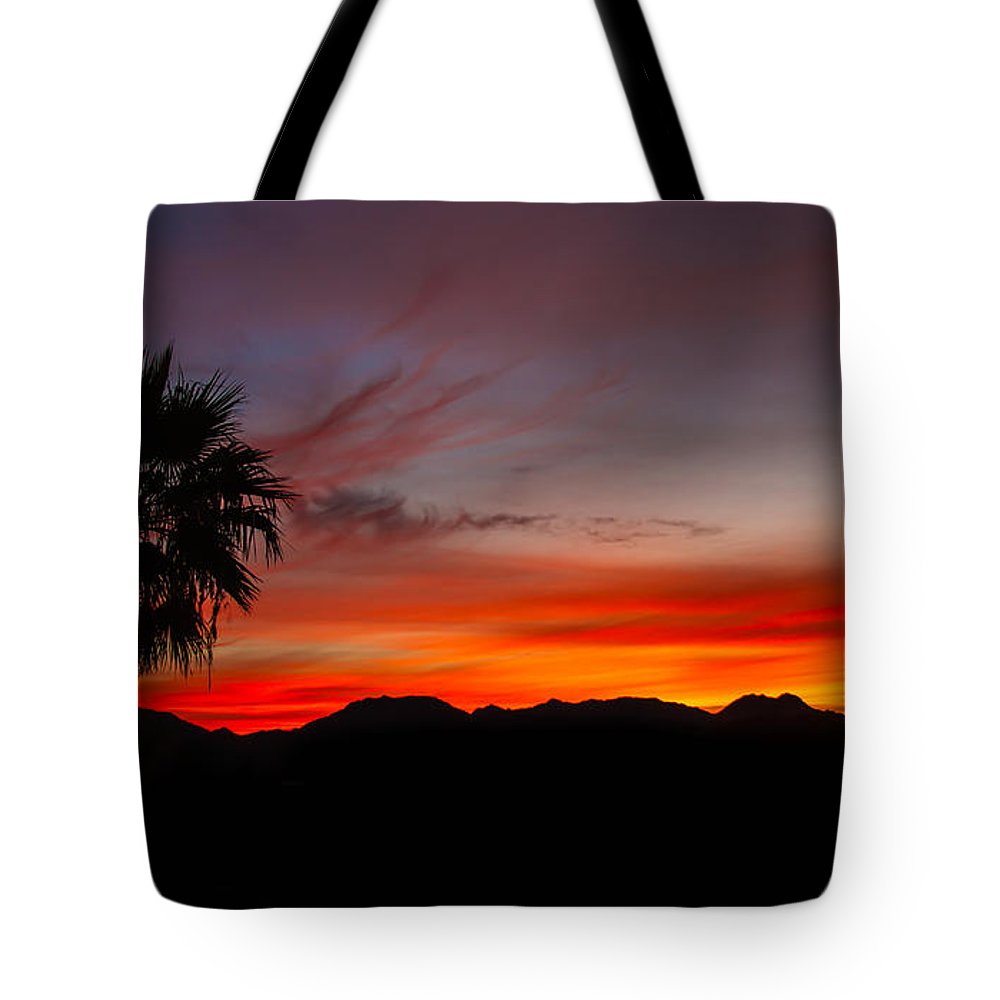 Sunrise Tote Bag featuring the photograph Morning Sunrise by Robert Bales