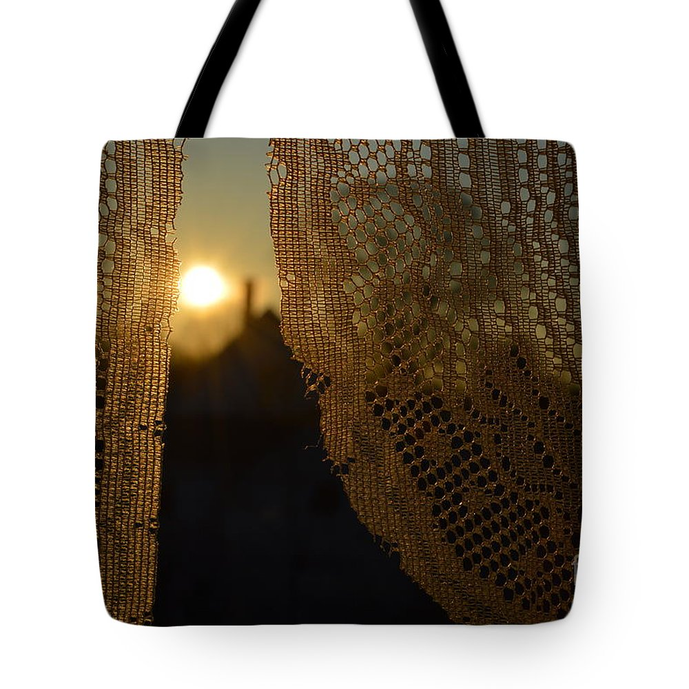 Morning Tote Bag featuring the photograph Morning Sunshine by Beverly Shelby