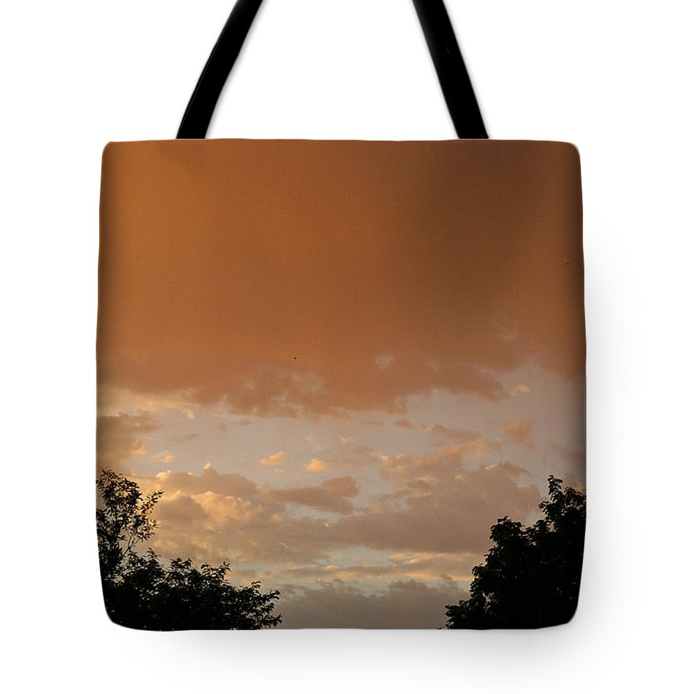 Outdoors Tote Bag featuring the photograph Morning Thunder by Susan Herber