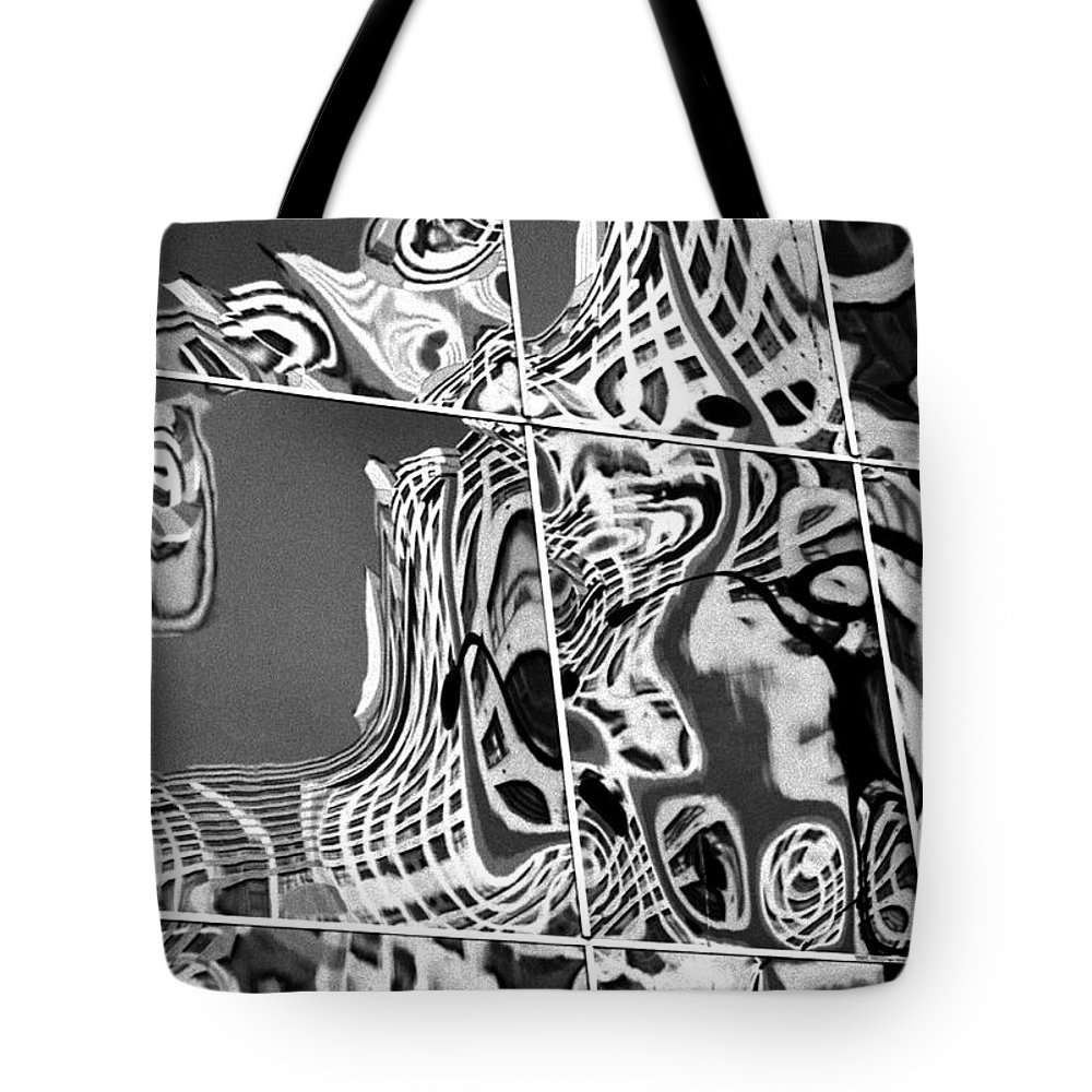 Graphic Tote Bag featuring the photograph Mosaic by Steven Huszar
