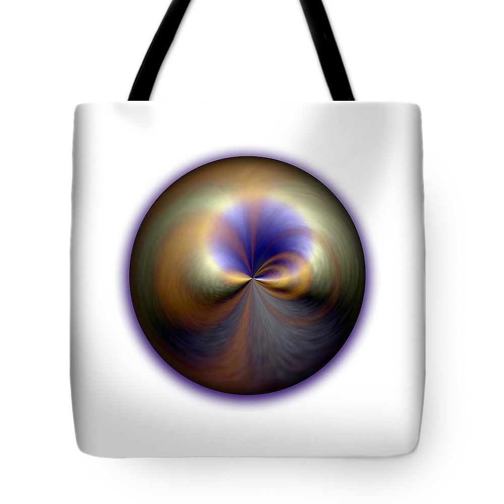 Mother Pearl Tote Bag featuring the digital art Mother Pearl by Jessica Holter