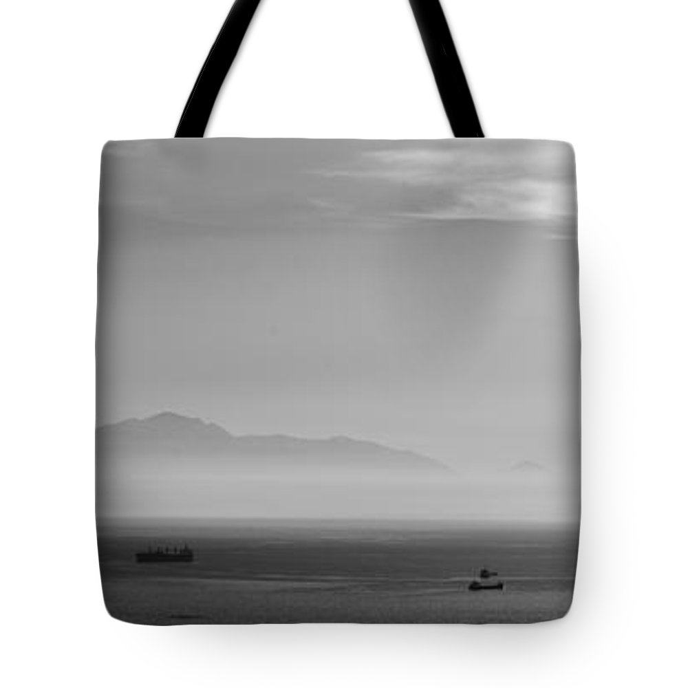 Abstract Tote Bag featuring the photograph Mount Olympus Greece by Sotiris Filippou