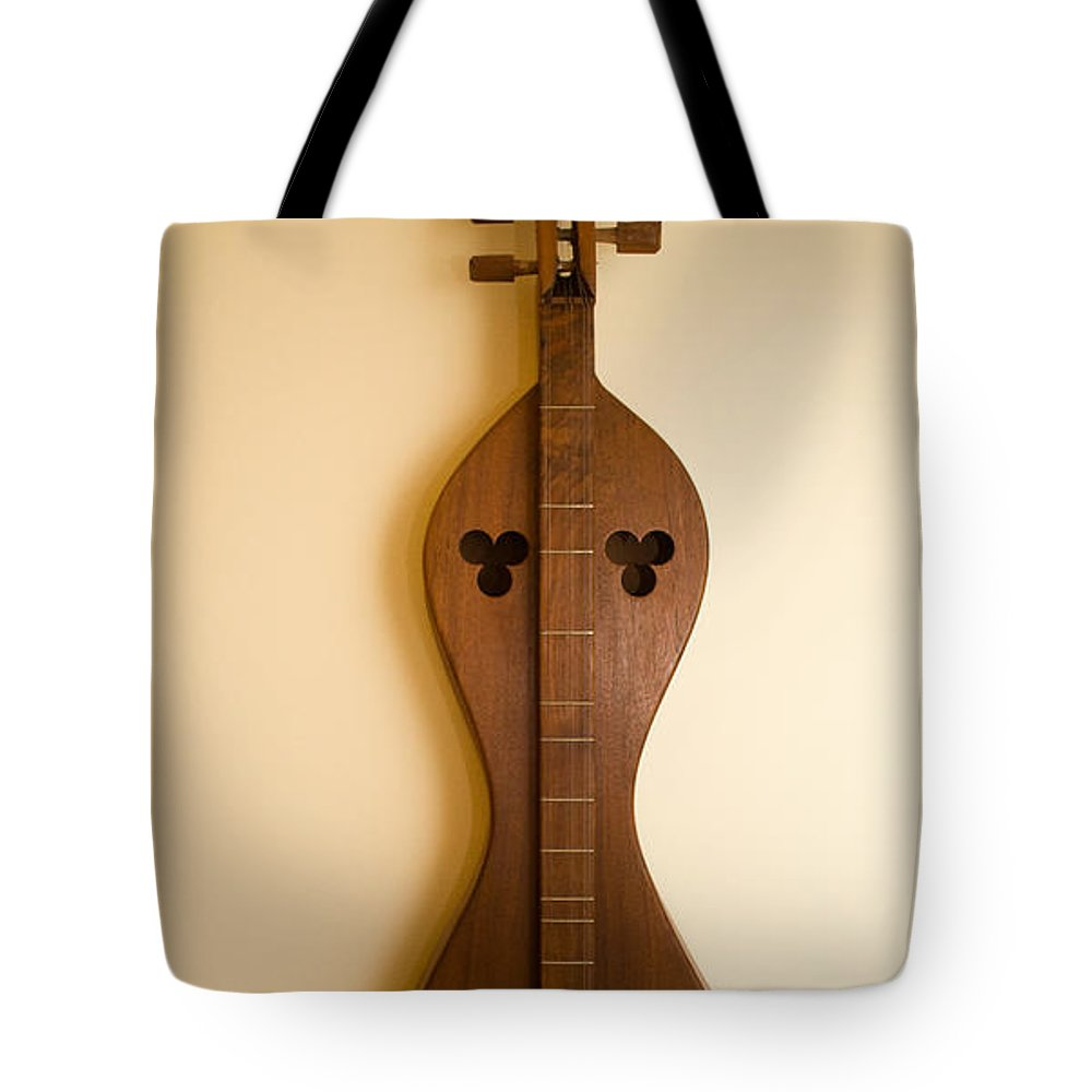 20130110-dsc05654 Tote Bag featuring the photograph Mountain Dulcimer 2 by Douglas Barnett