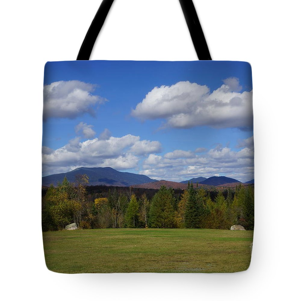 Adirondacks Tote Bag featuring the photograph Mountain View by Jeffery L Bowers