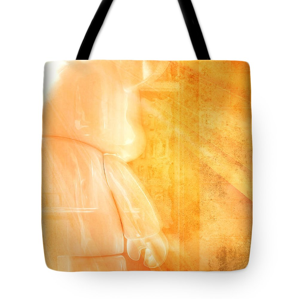 Mouse Tote Bag featuring the photograph Mouse Number 7 by Scott Norris