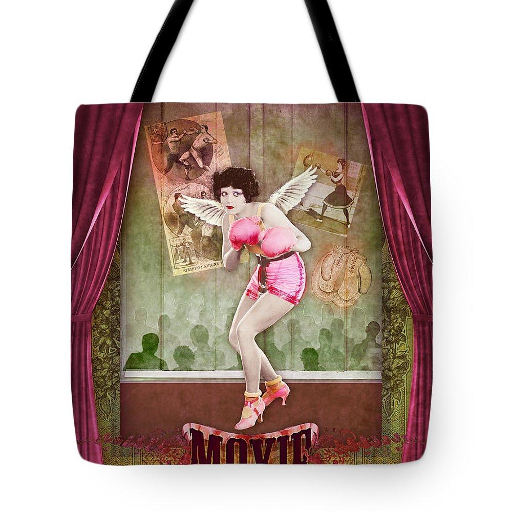 Aimee Stewart Tote Bag featuring the digital art Moxie by Aimee Stewart