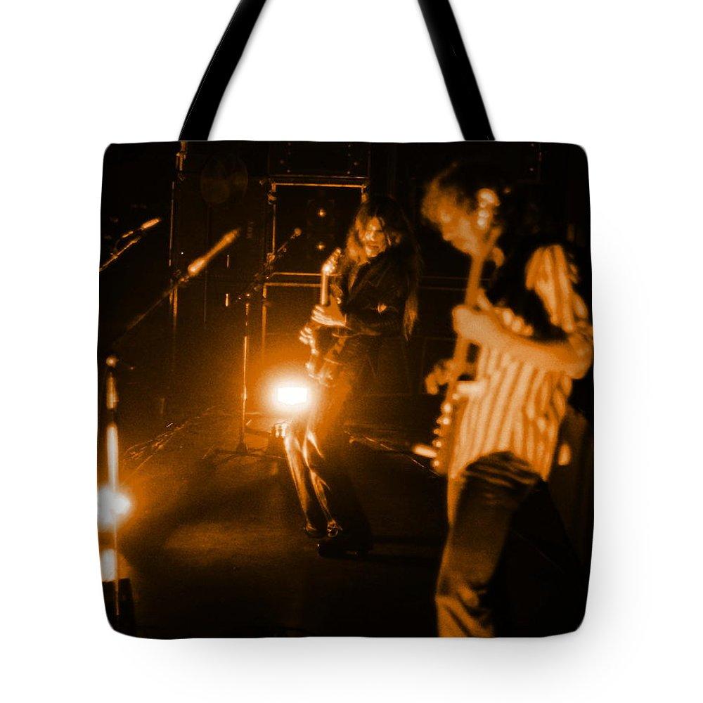 Mahogany Rush Tote Bag featuring the photograph Mrush #35 In Amber by Ben Upham