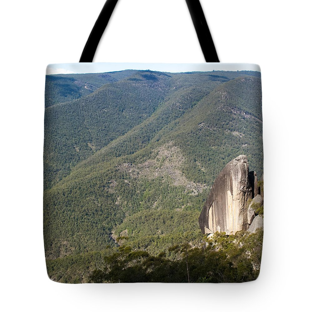 Australia Tote Bag featuring the photograph Mt Gilbrator Np - The Pinnicals by Rodney Appleby
