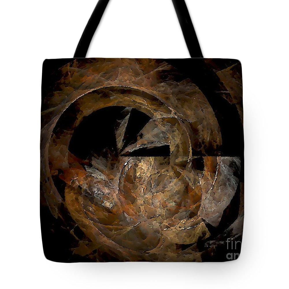 Graphics Tote Bag featuring the digital art Mug 0597 Marucii by Marek Lutek