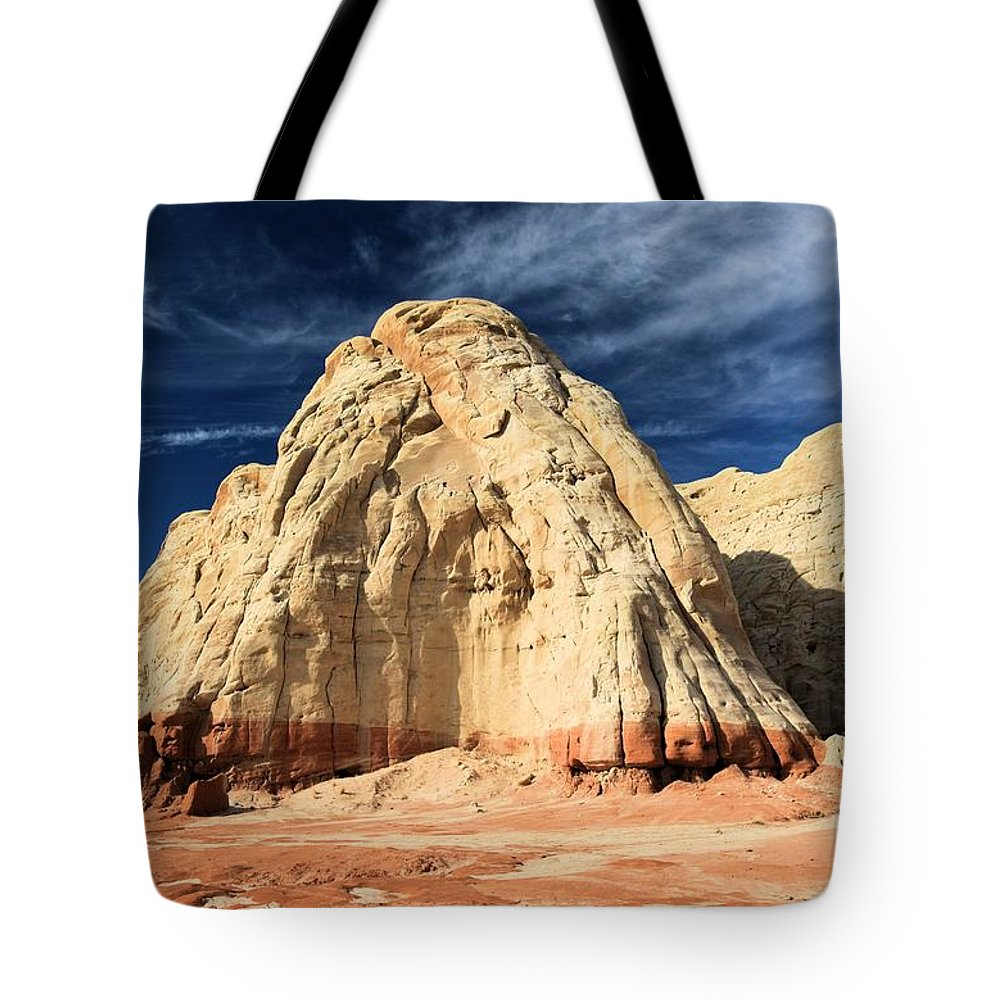 Toadstools Tote Bag featuring the photograph Multi-colored Mound by Adam Jewell