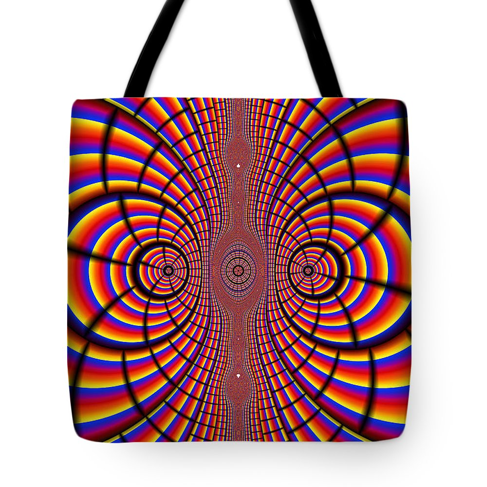 Abstract Tote Bag featuring the photograph Multicolored Abstract by Paul Sale Vern Hoffman