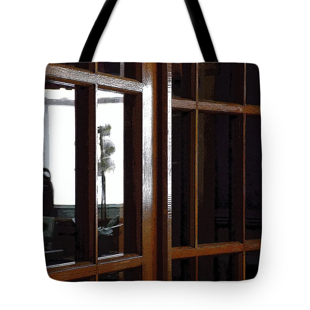 Museum Tote Bag featuring the photograph Museum Doors by William Tasker