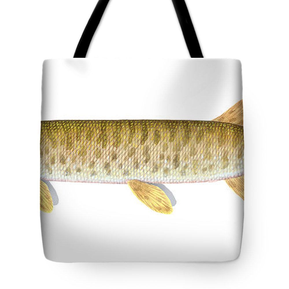 Muskellunge Tote Bags