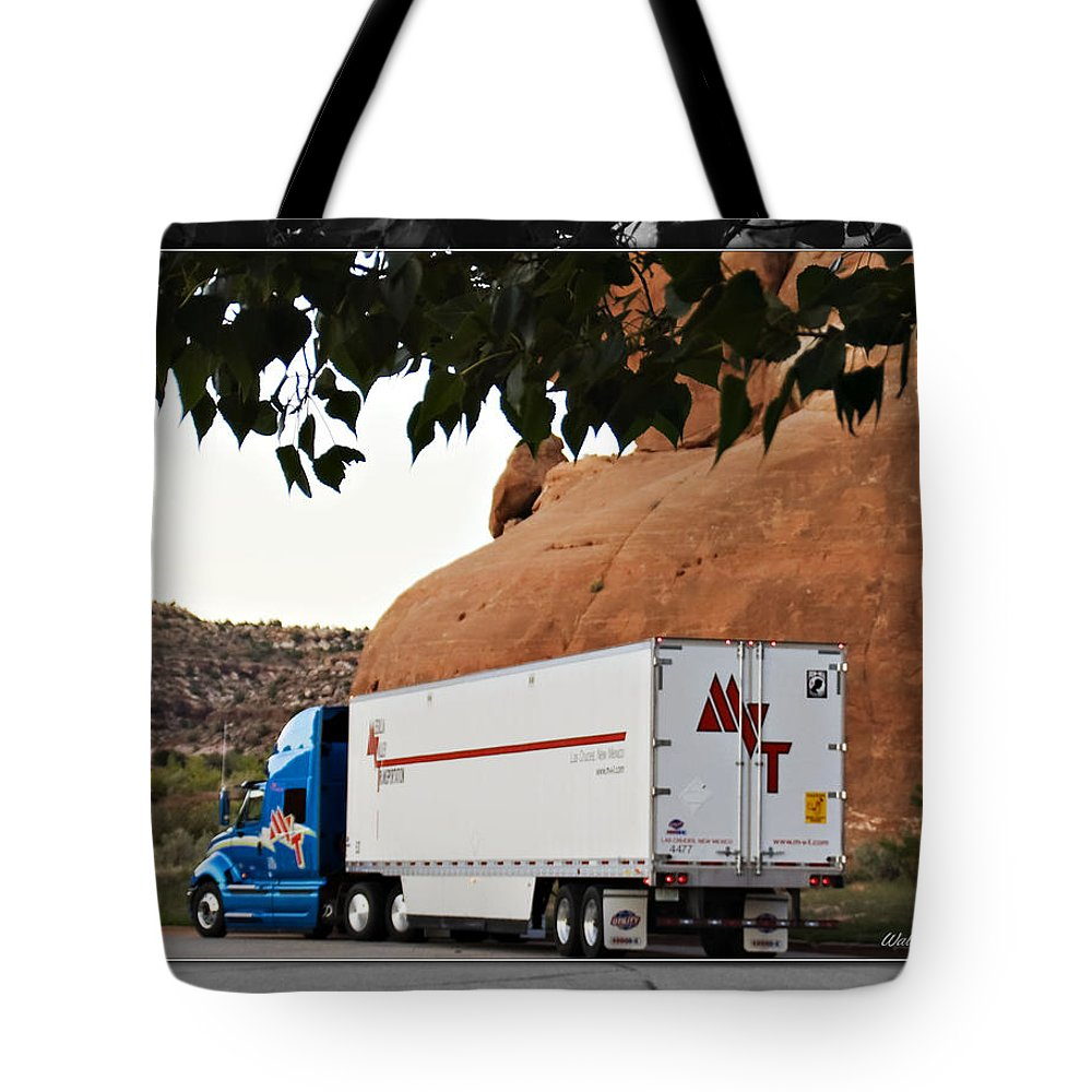 Transportation Tote Bag featuring the photograph Mvt #11 by Walter Herrit