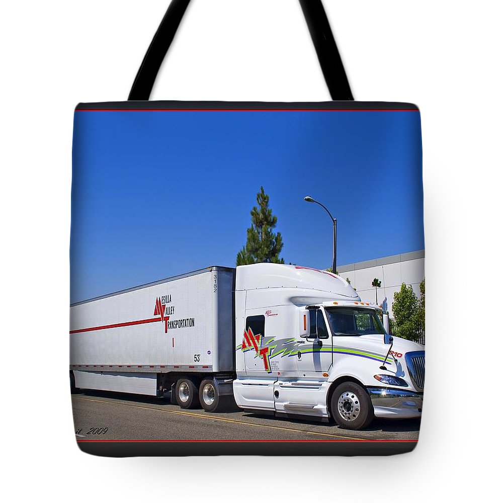 Mesilla Valley Transportation Tote Bag featuring the photograph Mvt #7 by Walter Herrit