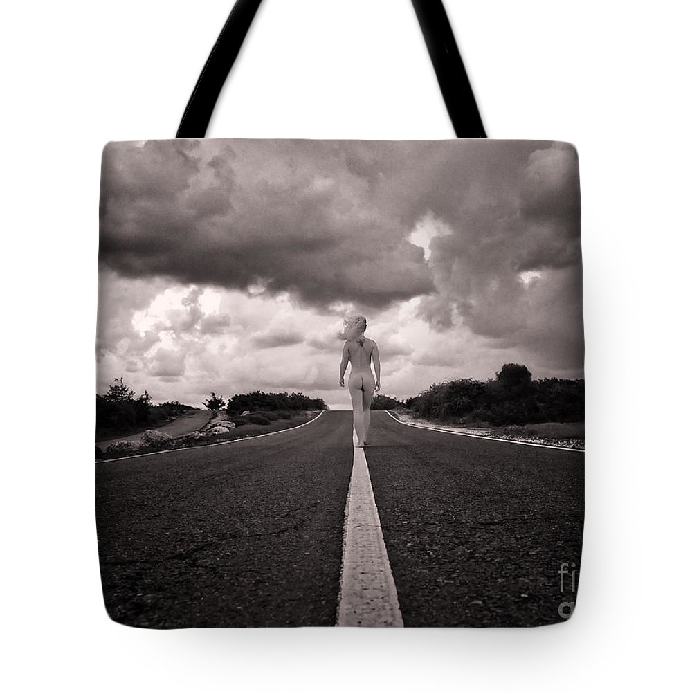 Adult Tote Bag featuring the photograph My Own Destiny by Stelios Kleanthous