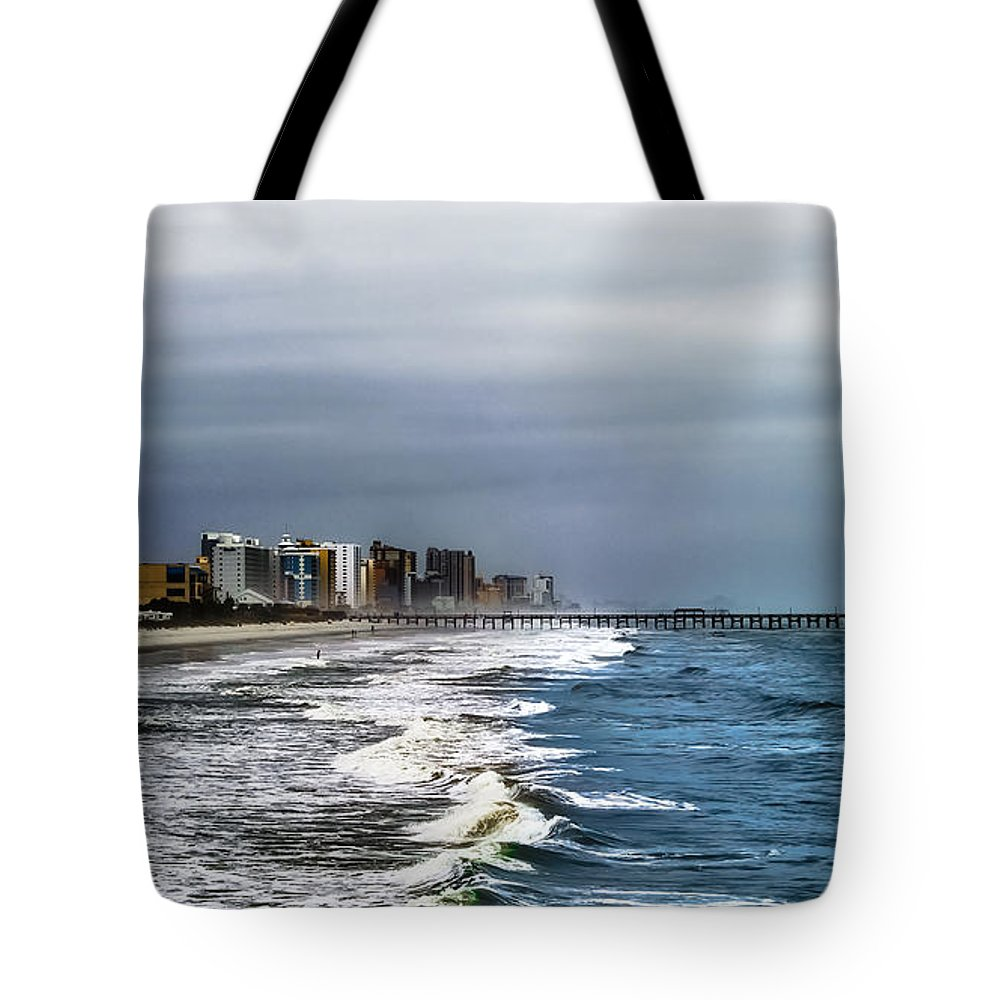 Myrtle Tote Bag featuring the photograph Myrtle Beach by Scott Hervieux