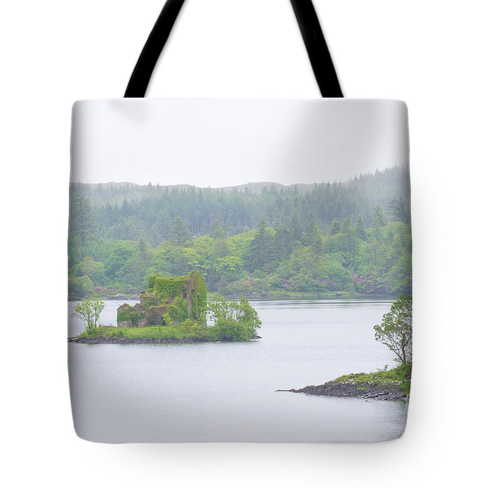 Ireland Tote Bag featuring the photograph Mysterious Island by Scott Carlin