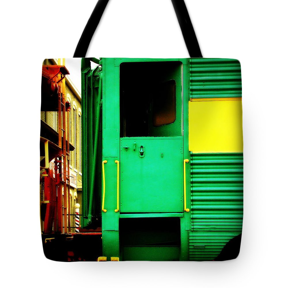 Fine Art Tote Bag featuring the photograph Mystery Ride by Rodney Lee Williams
