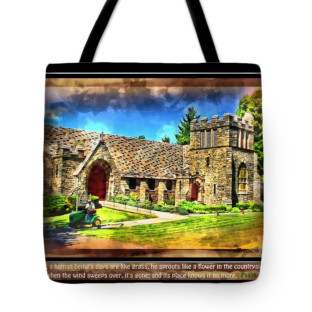 Church Tote Bag featuring the photograph Mystic Church - Featured In Comfortable Art Group by Ericamaxine Price