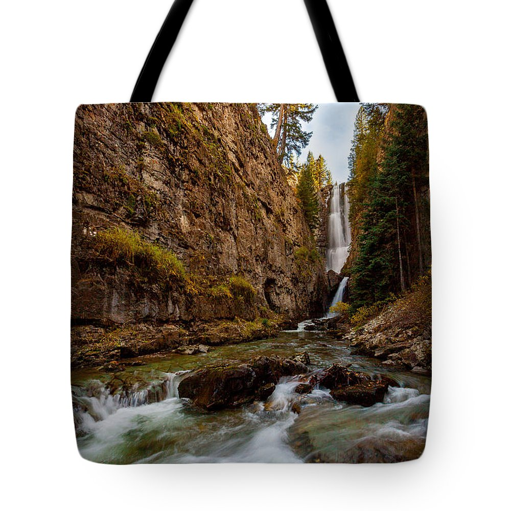 Nature Tote Bag featuring the photograph Mystic Falls II by Steven Reed
