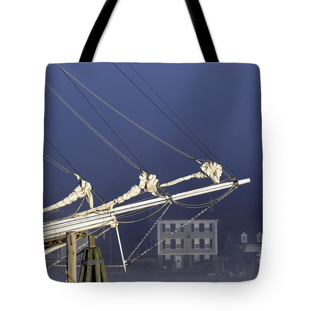 Tall Tote Bag featuring the photograph Mystic Morning by Joe Geraci