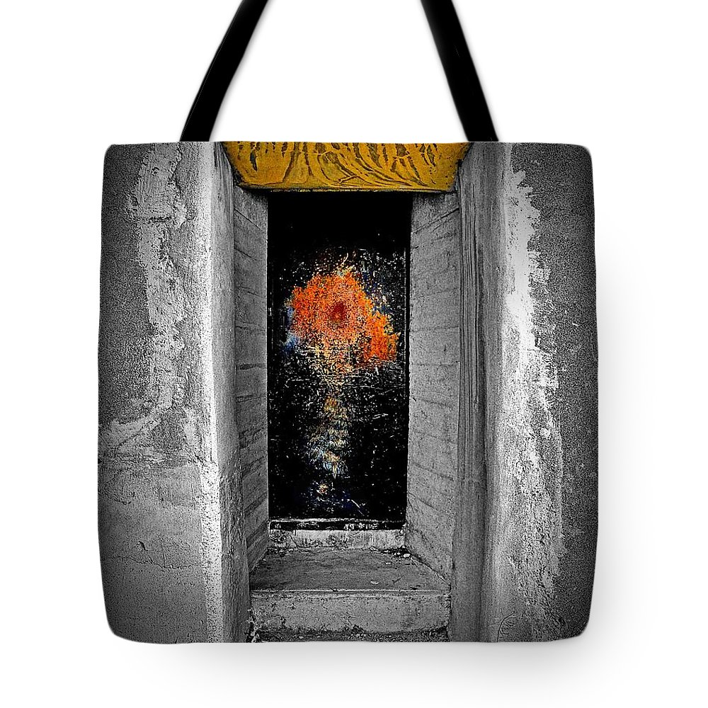 Abstract Tote Bag featuring the photograph Mystify by Lauren Leigh Hunter Fine Art Photography