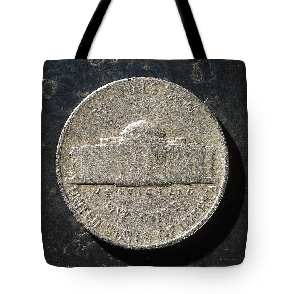Americana Tote Bag featuring the photograph N 1947 A T by Robert Mollett