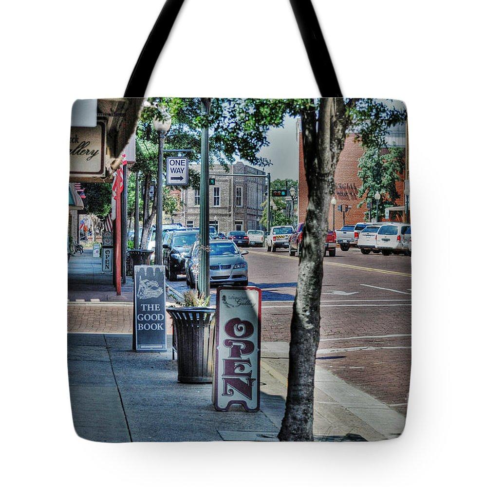 Nacogdoches Tote Bag featuring the photograph Nacogdoches by Savannah Gibbs