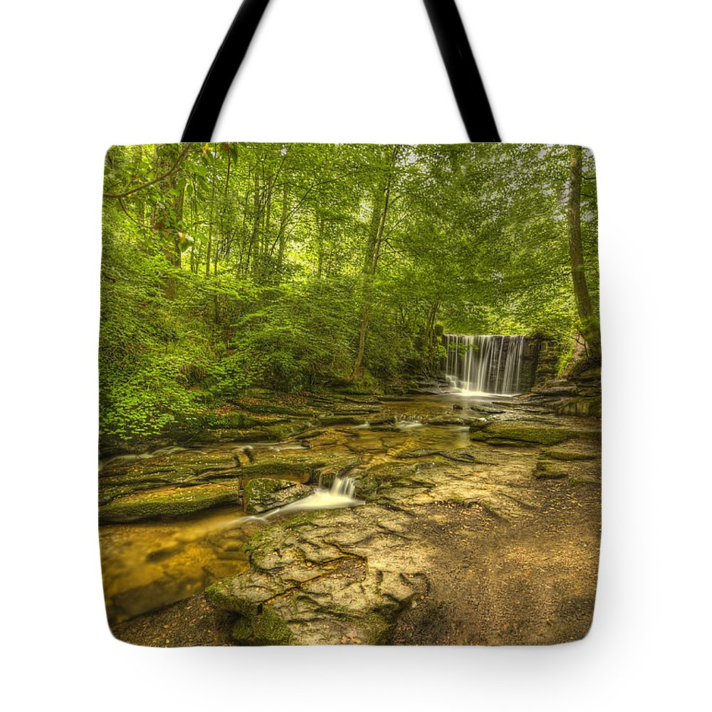 Nant Tote Bag featuring the photograph Nant Mill by Darren Wilkes