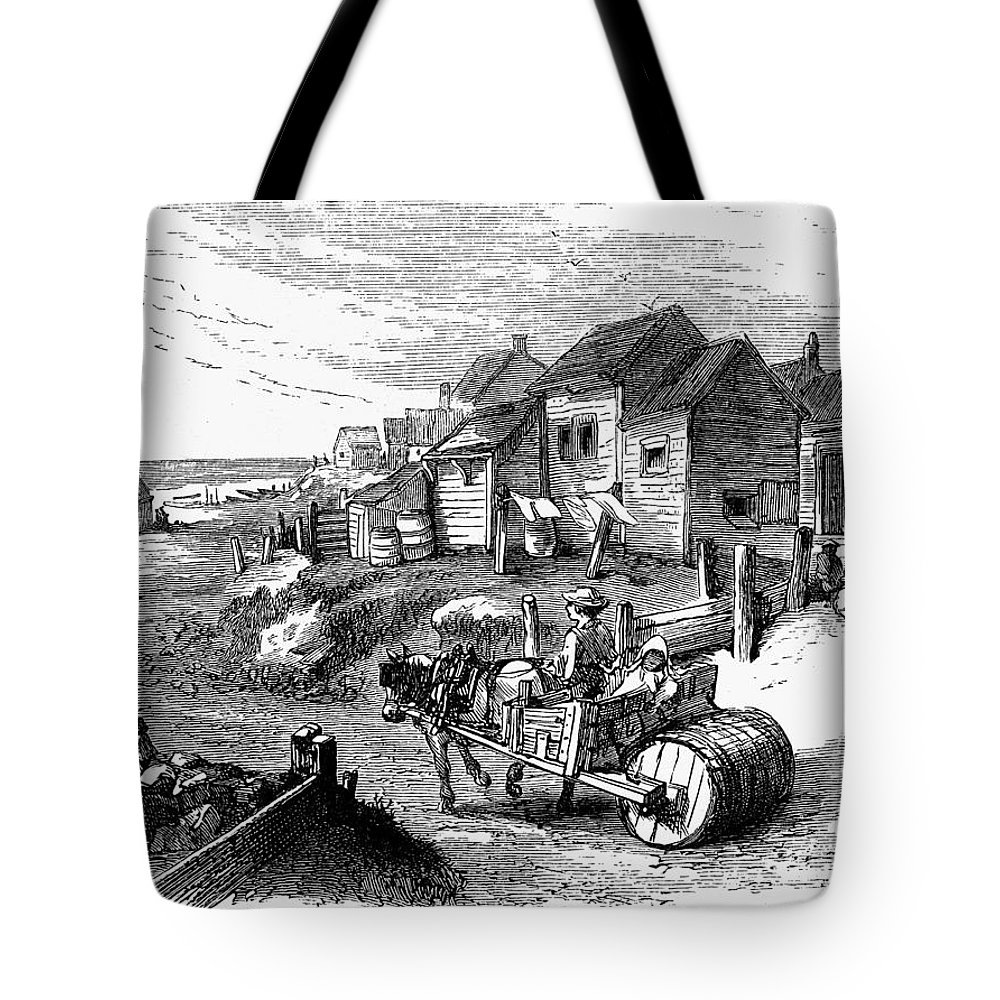 19th Century Tote Bag featuring the painting Nantucket, 19th Century by Granger