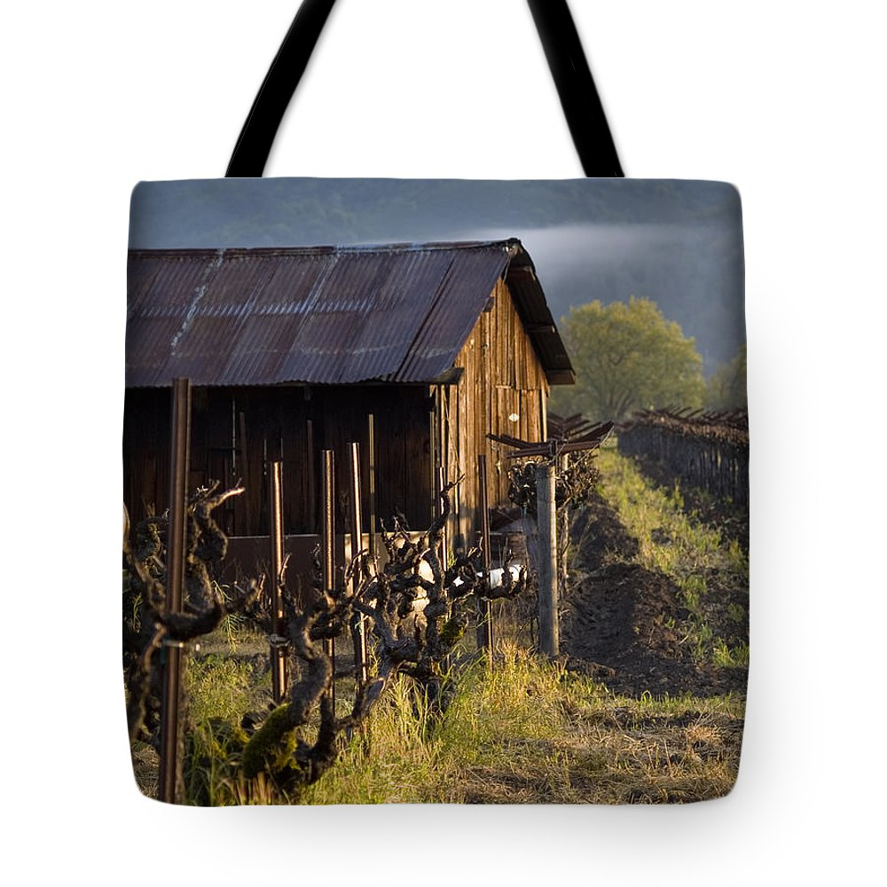 Napa Tote Bag featuring the photograph Napa Morning by Bill Gallagher