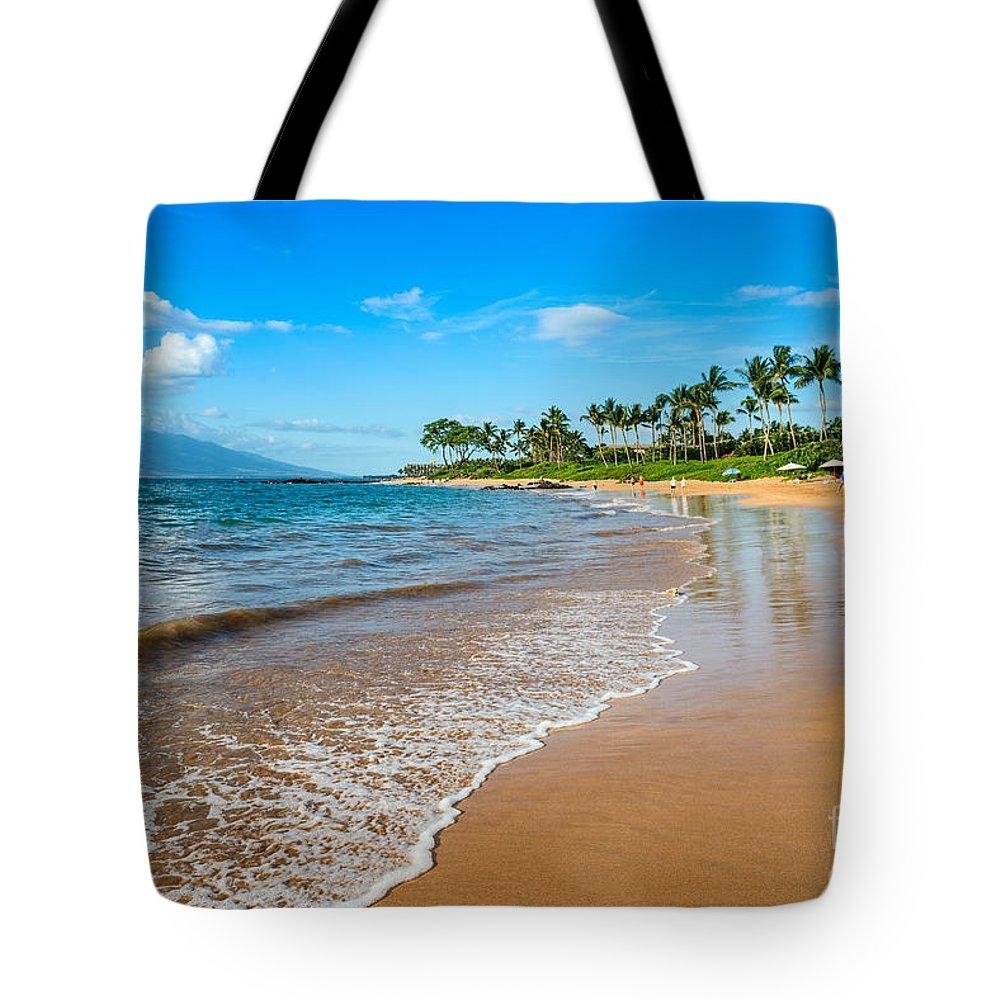Napili Beach Tote Bag featuring the photograph Napili Beach Paradise by Jamie Pham