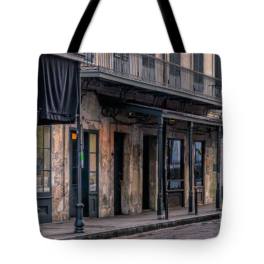 Art Tote Bag featuring the photograph Napoleon House In French Quarter by Kathleen K Parker
