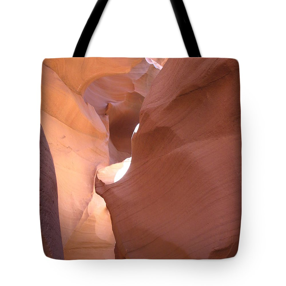 Canyon Tote Bag featuring the photograph Narrow Canyon Viii - Antelope Canyon by Christiane Schulze Art And Photography