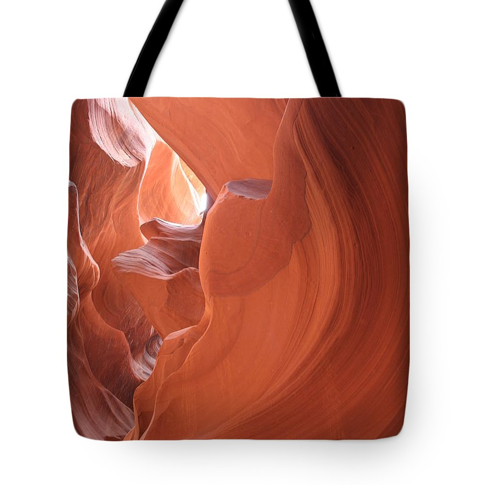 Canyon Tote Bag featuring the photograph Narrow Canyon Xi by Christiane Schulze Art And Photography
