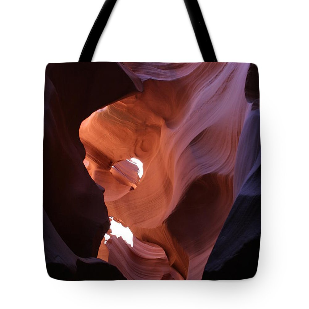 Canyon Tote Bag featuring the photograph Narrow Canyon Xv by Christiane Schulze Art And Photography