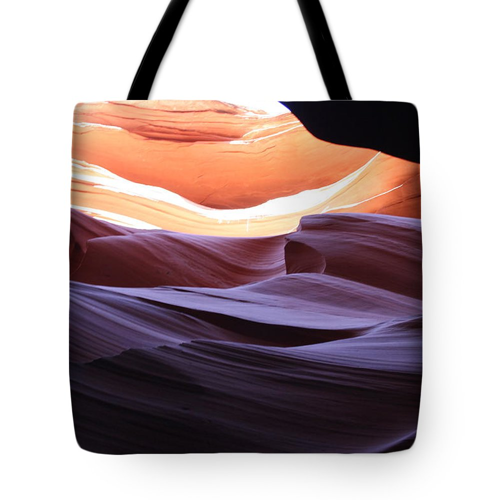 Canyon Tote Bag featuring the photograph Narrow Canyon Xviii by Christiane Schulze Art And Photography