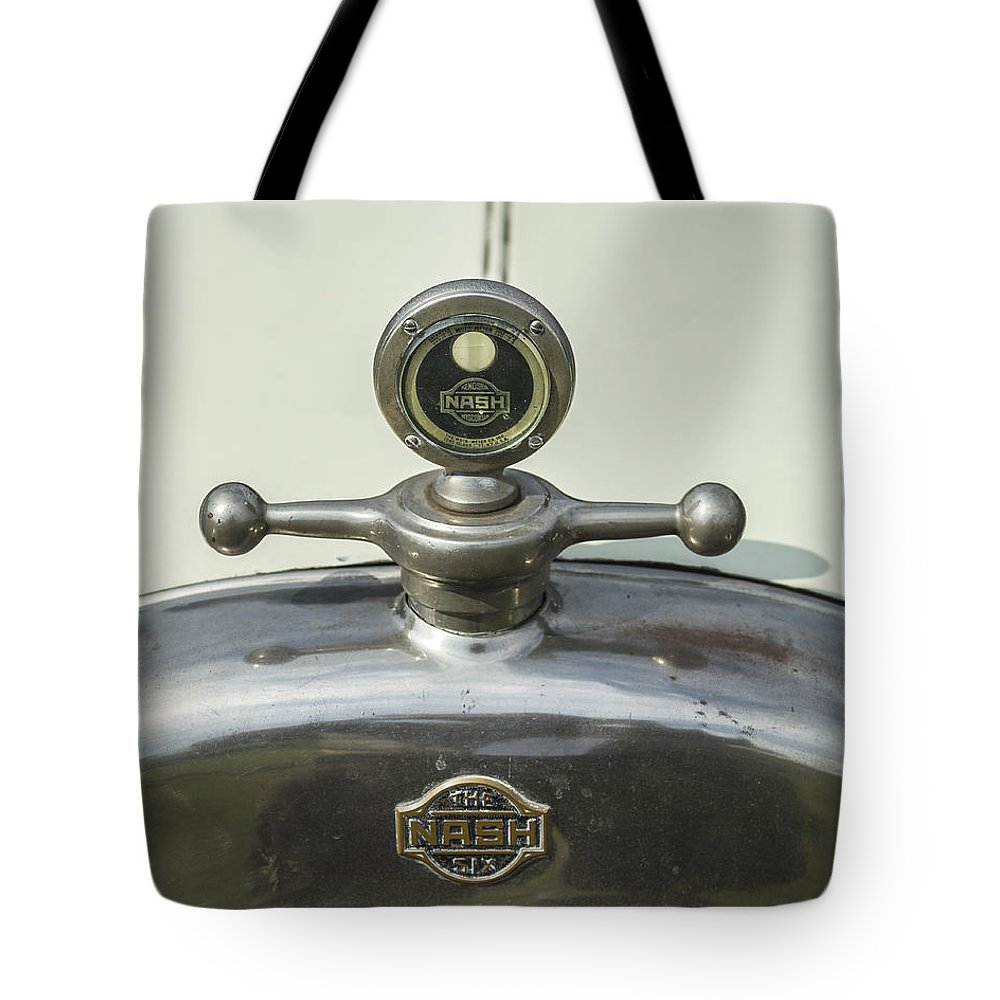 Glenmoor Tote Bag featuring the photograph Nash Six by Jack R Perry