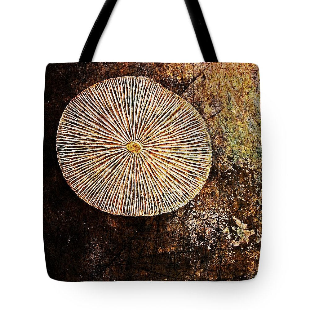 Texture Tote Bag featuring the digital art Nature Abstract 22 by Maria Huntley
