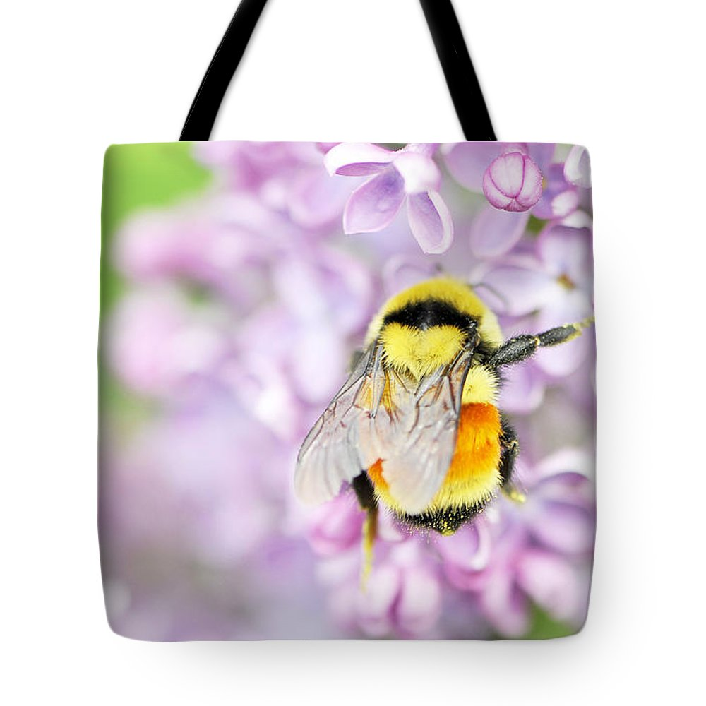 Wendy Elliott Photography Tote Bag featuring the photograph Natures Buzzing Beauty by Wendy Elliott