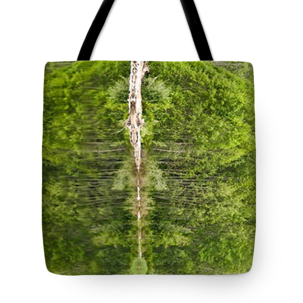 #nature Totem Tote Bag featuring the photograph Natures Totem by Randy Giesbrecht