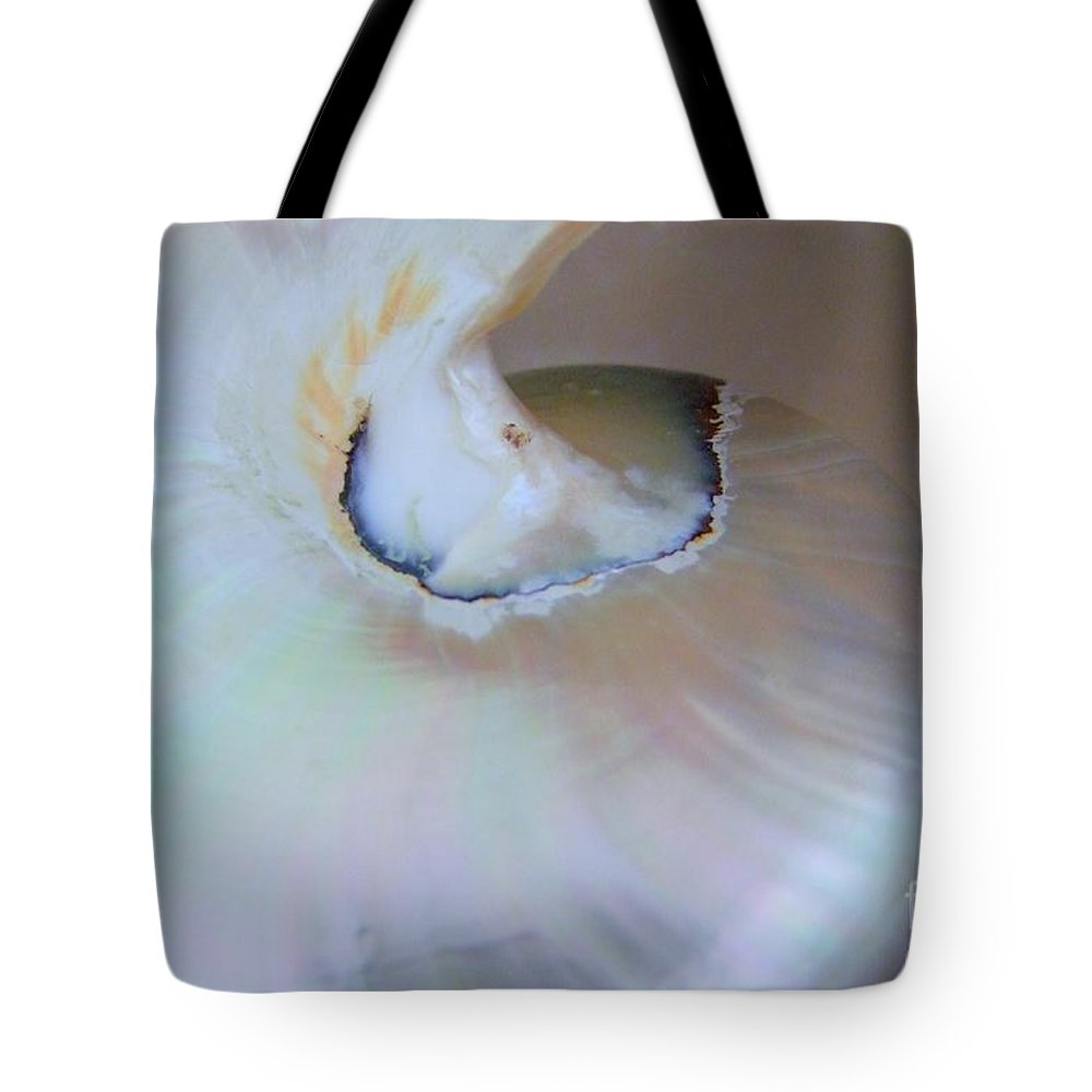 Shells Tote Bag featuring the photograph Nautilus Sea Shell by Mary Deal