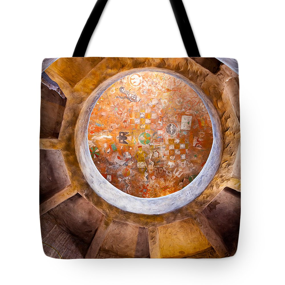 Navajo Watchtower Tote Bag featuring the photograph Navajo Watchtower by Dave Bowman