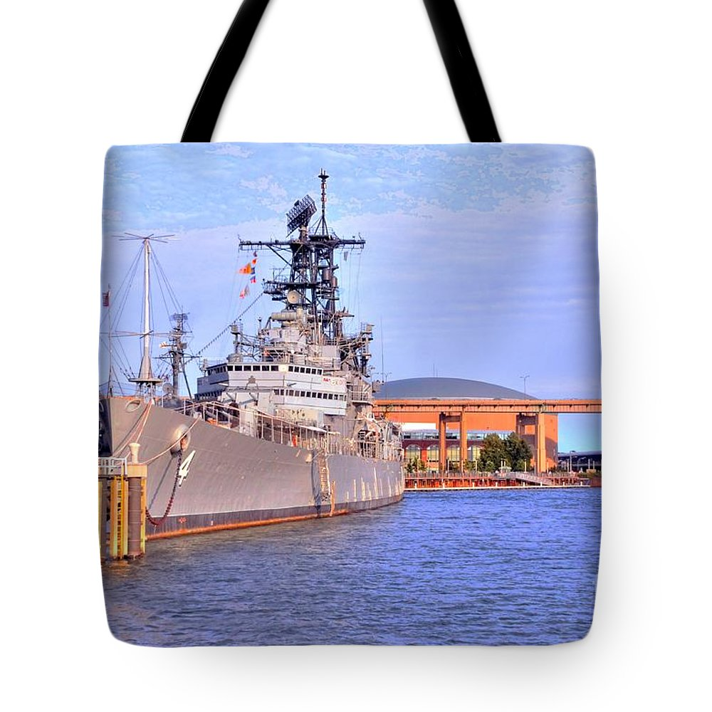 Naval Tote Bag featuring the photograph Naval Park by Kathleen Struckle