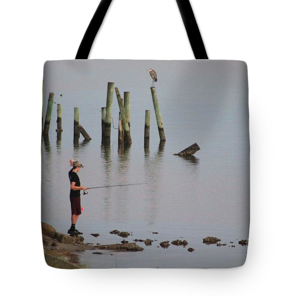 Navarre Beach Pier Tote Bag featuring the photograph Navarre Beach Sunset Pier 4 by Michelle Powell