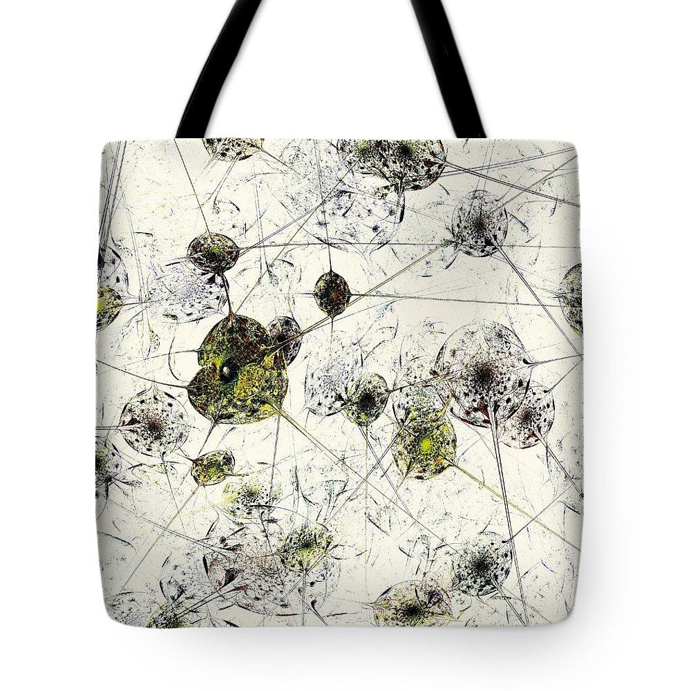 Biologist Digital Art Tote Bags