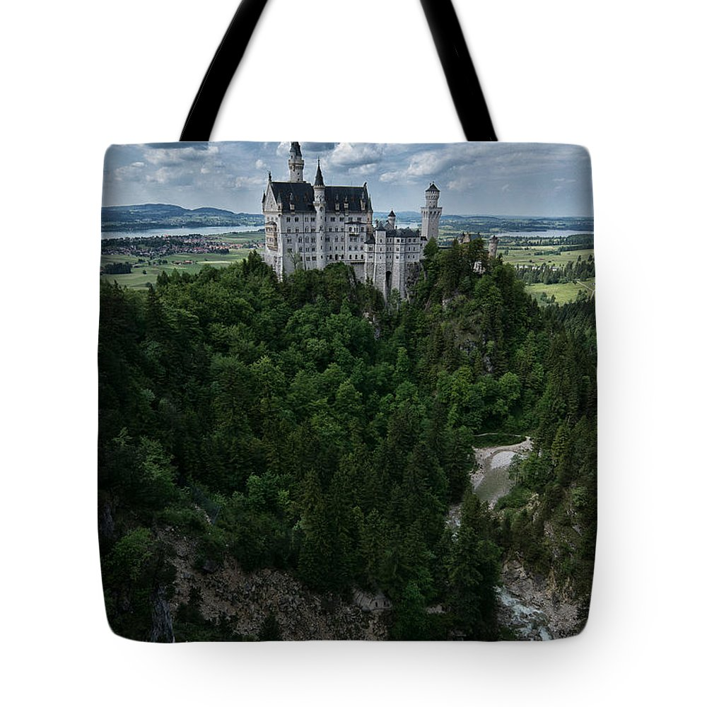 Neuschwanstein Castle Tote Bag featuring the photograph Neuschwanstein by Brothers Beerens