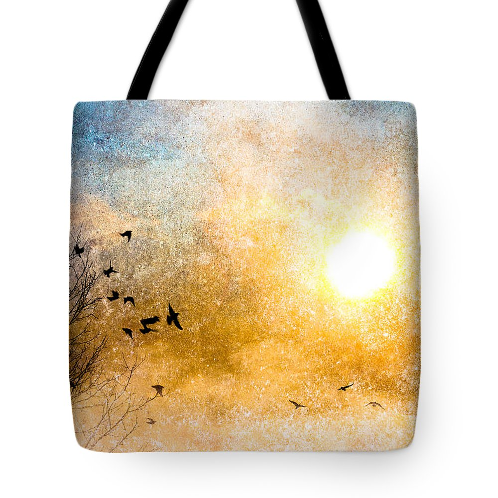 Orsillo Tote Bag featuring the photograph New Day Yesterday by Bob Orsillo